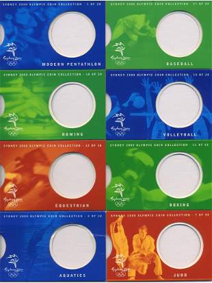 2000 Sydney Olympic Games 28-coin Pack