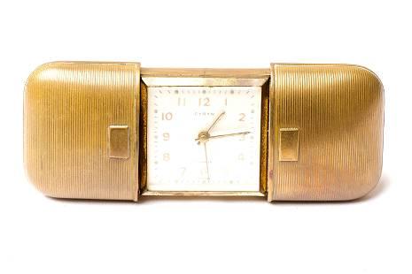 CYRYN 7 Jewels German Travel Clock