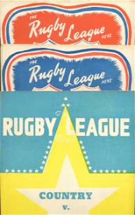 1955 Rugby Leaque News Magazines (5)