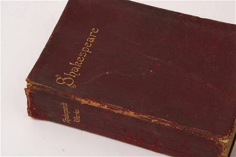 Shakespeare, Silvered Bible & Vintage Composer Books