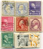 U.S. & Canadian Stamps (23)
