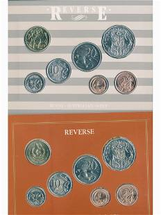 1867 and 1987 Australian Seven-Coin Sets