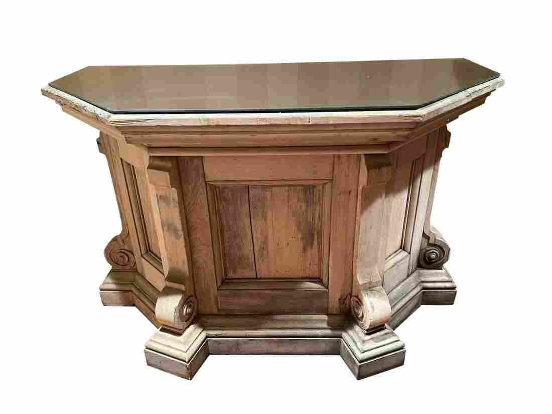 Mirror Top Altar Table