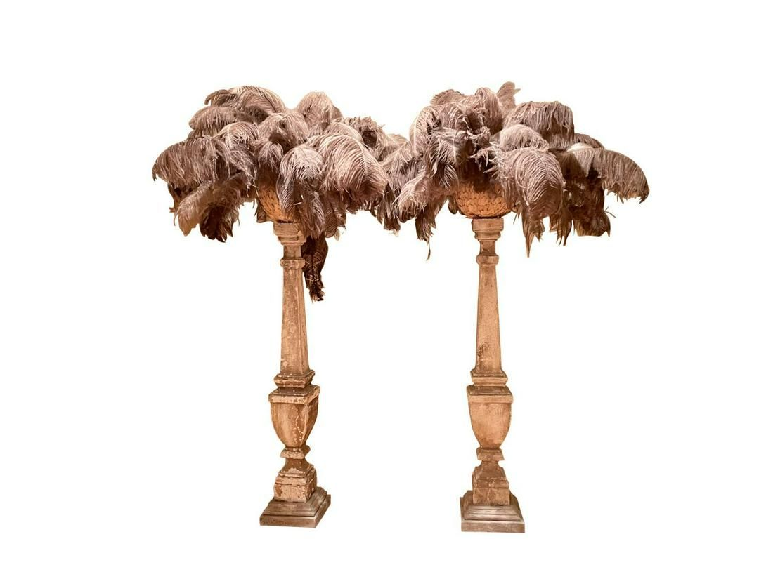 Ostrich Feather Stands
