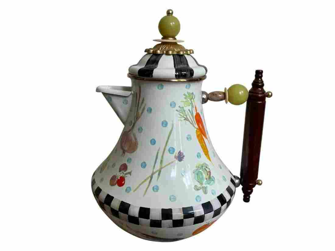 Mackenzie-Childs Coffee Pot