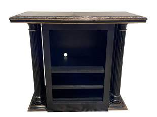 Empire Style Black and Gold Media Console