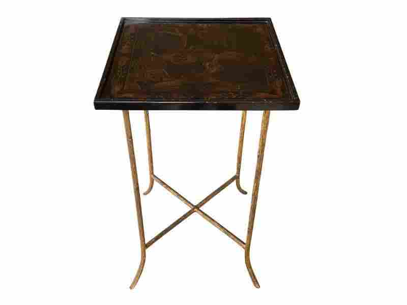 Dennis & Leen Chinoiserie Side Table