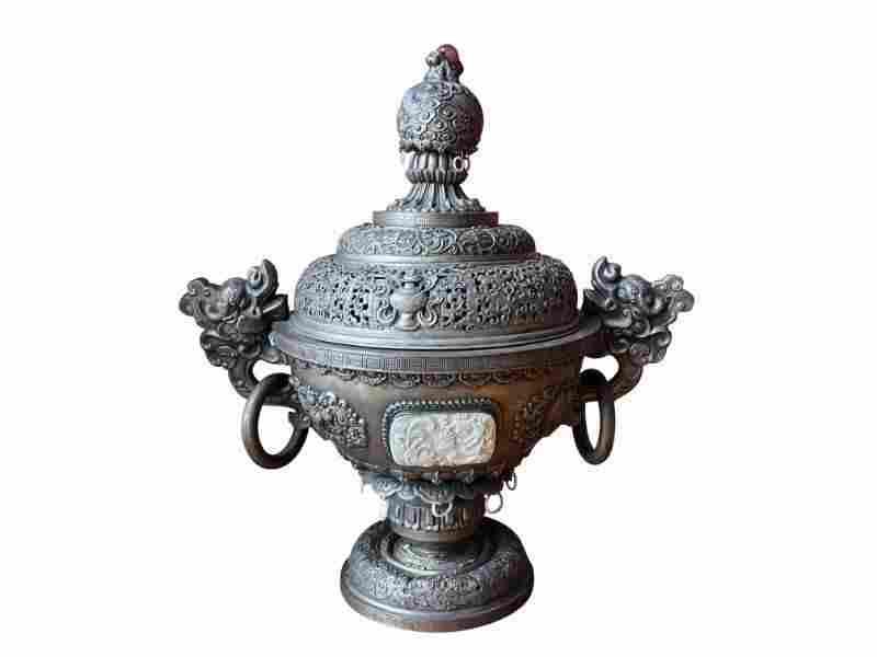 Chinese Incense Burner Display