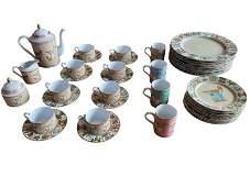 Gucci Greek Mythological Porcelain Place Settings