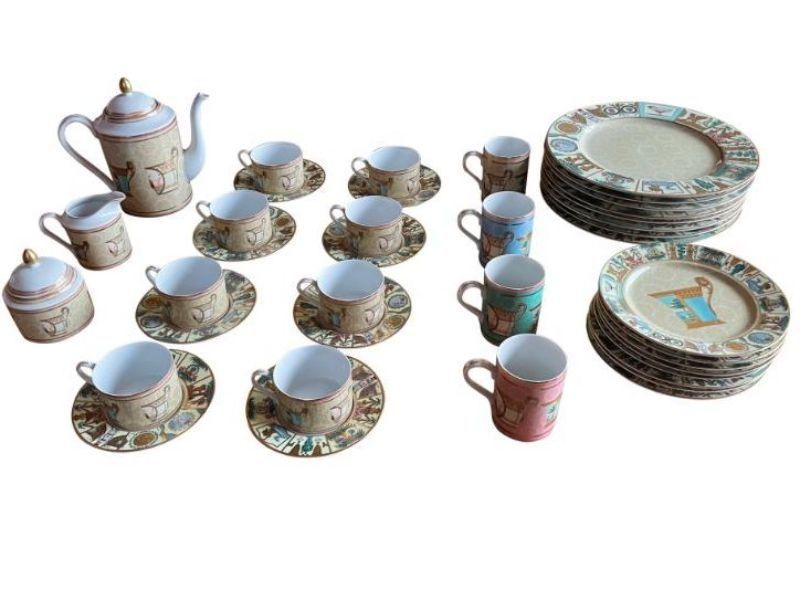 Gucci Greek Mythological Porcelain Place Settings