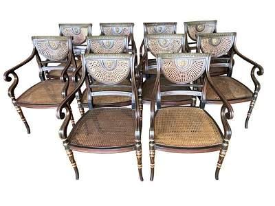Artistic Frame Thomas Sheraton Armchairs