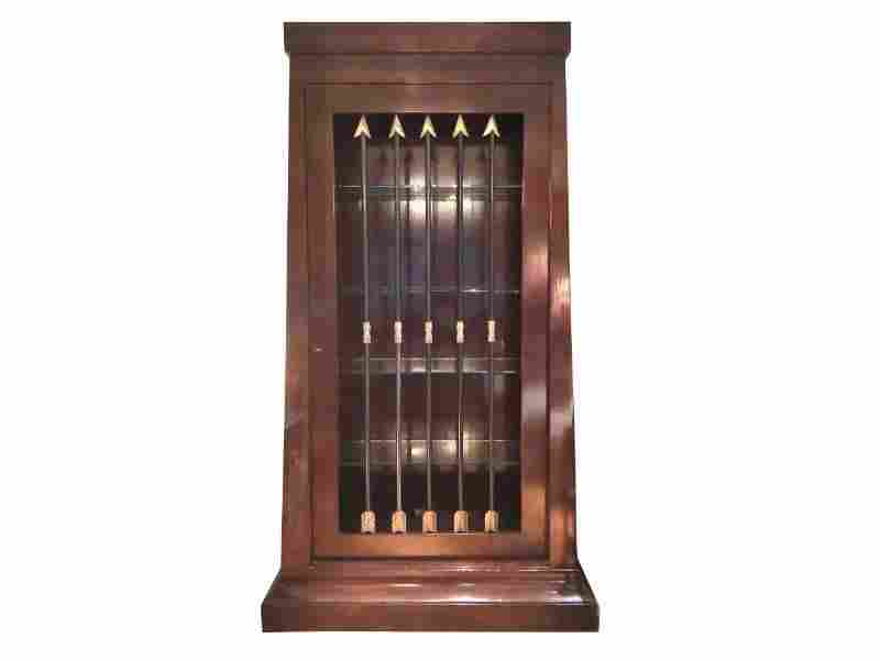 Large Display Cabinet with Bronze Arrows