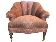 Channel Back Accent Chair