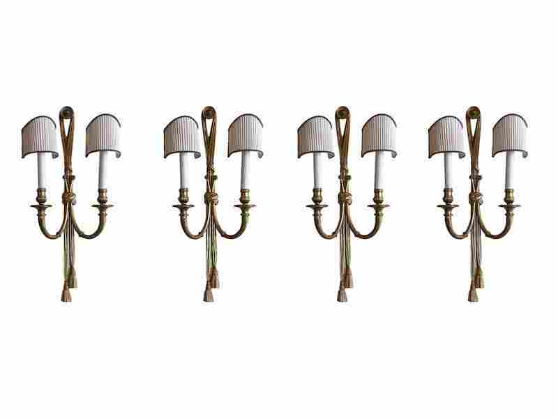 Neoclassical Style Double-Arm Sconces