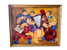 Trio, by Dorit Levi, Original Painting