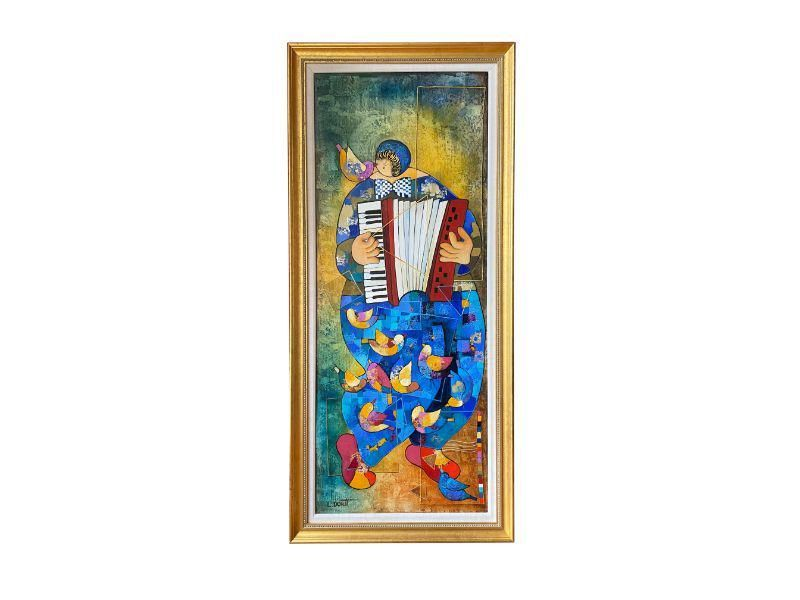 Song, by Dorit Levi, Original Painting