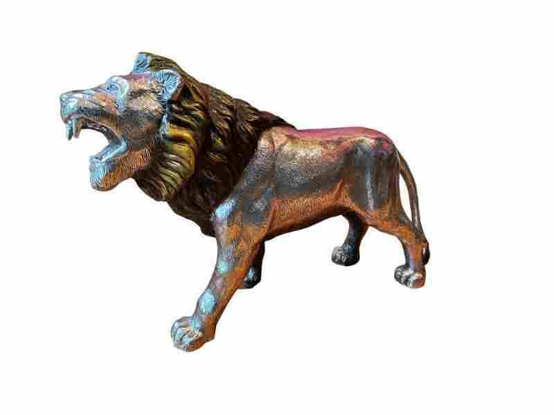 Plata Artistica Silver Plated Lion