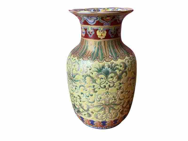 Decorative Chinese Vase from Amita Trading Co.