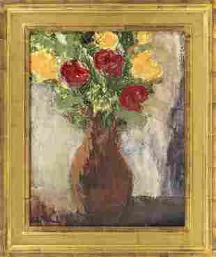 LESLIE PACKARD, America, Contemporary, Floral still