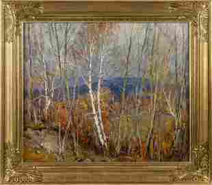 EMILE ALBERT GRUPPE, Massachusetts, 1896-1978, High