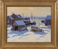 EMILE ALBERT GRUPPE, Massachusetts, 1896-1978, Frozen
