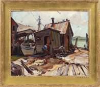 EMILE ALBERT GRUPPE Massachusetts 18961978 Fish