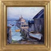 """EMILE ALBERT GRUPPE, Massachusetts, 1896-1978, """"High"""
