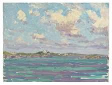 "HARRY LESLIE HOFFMAN, Connecticut, 1871-1964, ""Bermuda"