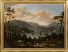 VICTOR DE GRAILLY New York/France, 1804-1889 Hudson