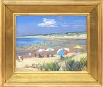 "CELIA JUDGE Massachusetts, Contemporary ""Beach"