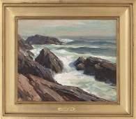 """EMILE ALBERT GRUPPE, Massachusetts, 1896-1978, """"Surf"""