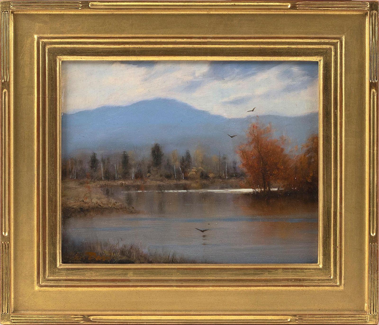"WILLIAM R. DAVIS, Massachusetts, b. 1952, ""'View Along"