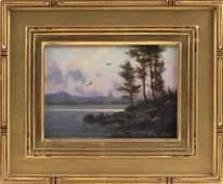 "WILLIAM R. DAVIS, Massachusetts, b. 1952, ""Lake View,"