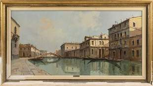 ALDO MARANGONI, Italy, Mid-20th Century, Venetian