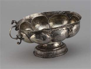 EARLY SILVER BOWL Approx. 6.6 troy oz.