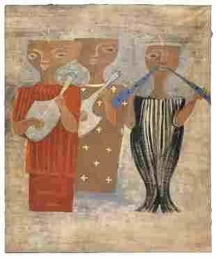 STYLE OF MASSIMO CAMPIGLI (20th Century,), Stylized