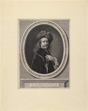 ANTOINE MASSON (France, 1636-1700), Portrait of Pierre