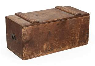 SHIPPING CHEST PERTAINING TO DANIEL WEBSTER 19th