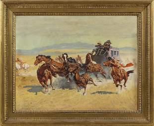 POSSIBLY FREDERIC SACKRIDER REMINGTON (America, Early