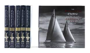 """SIX VOLUMES FROM """"THE HOLY GRAIL OF YACHTING"""""""