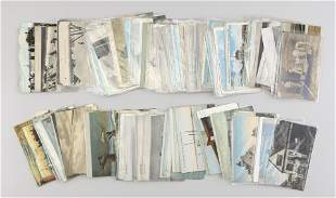 APPROX. 151 POSTCARDS DEPICTING LIFE SAVING Early 20th