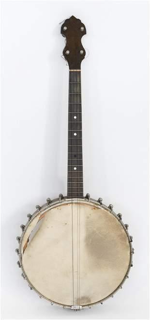 """VINTAGE FAIRBANKS TYPE """"N"""" BANJO America, 1920s Banjo"""