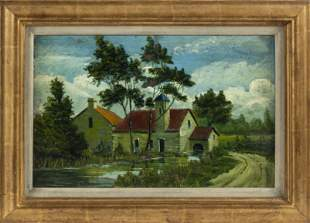 CONTINENTAL SCHOOL (20th Century,), A European house on