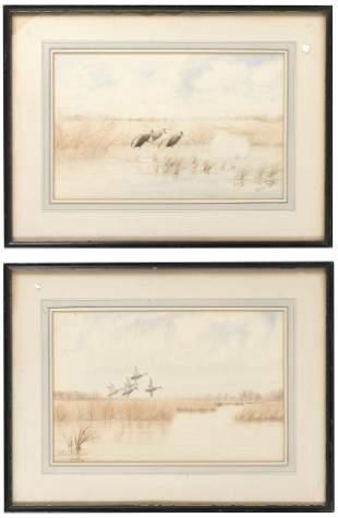 JOSEPH DAY KNAP   New York, 1875-1962  Two works