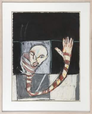 "MICHAEL HAFFTKA New York b. 1953 ""The Wave"". Signed"