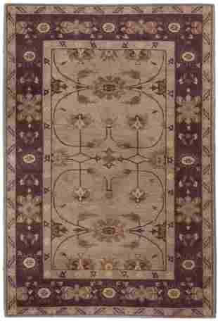 """CONTEMPORARY RUG: 6'0"""" X 8'10"""" 21st Century In a"""