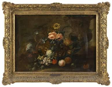 ATTRIBUTED TO JEAN-BAPTISTE MONNOYER France 1634-1699