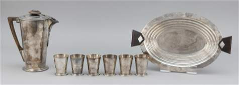 ART DECO SILVER ITEMS BY MERIDEN AND CHRISTOFLE Early