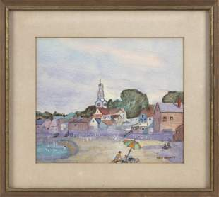 REX CHAIT (America, 20th Century), Rockport Beach.,