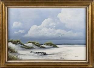 JIM BOOTH (South Carolina, b. 1945), Coastal scene.,